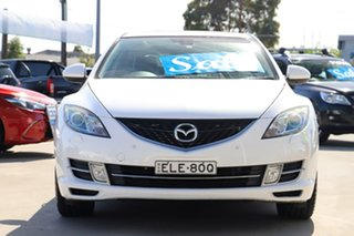 2009 Mazda 6 GH1051 MY09 Luxury White 5 Speed Sports Automatic Sedan
