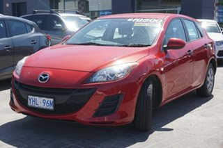 2011 Mazda 3 BL10F1 MY10 Neo Red 6 Speed Manual Hatchback.
