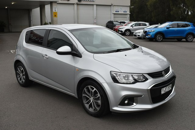 Used Holden Barina TM MY18 LS Gosford, 2018 Holden Barina TM MY18 LS Silver 5 Speed Manual Hatchback