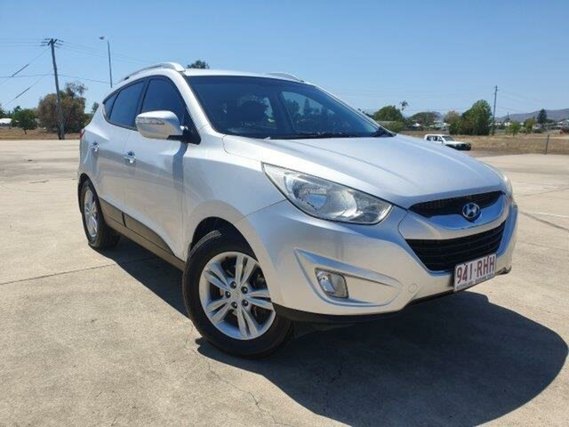Used Hyundai ix35 LM Elite AWD Townsville, 2010 Hyundai ix35 LM Elite AWD Silver 6 Speed Sports Automatic Wagon