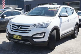 2015 Hyundai Santa Fe DM2 MY15 Active White 6 Speed Sports Automatic Wagon.