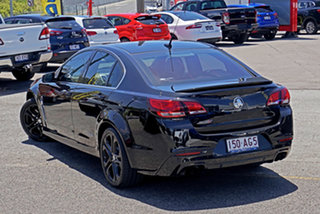 2014 Holden Commodore VF MY15 SS V Redline Black 6 Speed Sports Automatic Sedan.