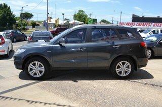 2011 Hyundai Santa Fe CM MY10 Highlander CRDi (4x4) Grey 6 Speed Automatic Wagon.