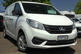 2019 LDV G10 SV7C White 6 Speed Automatic Van.