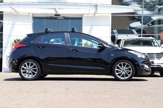 2013 Hyundai i30 GD2 SR Black 6 Speed Sports Automatic Hatchback.