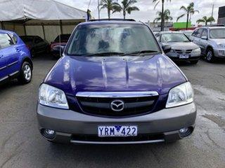 2004 Mazda Tribute Luxury Blue 4 Speed Automatic 4x4 Wagon.
