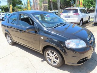 2011 Holden Barina Black Automatic Sedan.