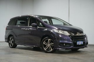 2017 Honda Odyssey RC MY17 VTi-L Purple 7 Speed Constant Variable Wagon.
