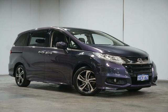 Used Honda Odyssey RC MY17 VTi-L Welshpool, 2017 Honda Odyssey RC MY17 VTi-L Purple 7 Speed Constant Variable Wagon