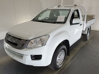2016 Isuzu D-MAX MY15.5 SX White 5 Speed Sports Automatic Cab Chassis.