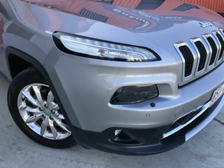 2015 Jeep Cherokee KL MY15 Limited Silver 9 Speed Sports Automatic Wagon
