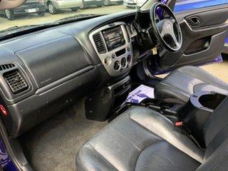 2004 Mazda Tribute Luxury Blue 4 Speed Automatic 4x4 Wagon