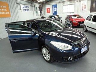 2012 Renault Fluence L38 MY12 Privilege Blue 6 Speed Constant Variable Sedan.