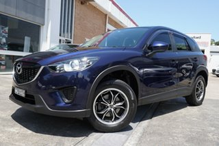 2013 Mazda CX-5 KE1071 MY13 Maxx SKYACTIV-Drive Blue 6 Speed Sports Automatic Wagon.