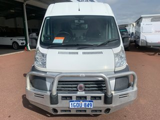 2012 Fiat Ducato Series II MY12 Mid Roof LWB MTA White 6 Speed Sports Automatic Single Clutch Van.