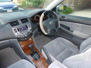 2005 Honda Accord 40 VTi Silver 5 Speed Automatic Sedan.