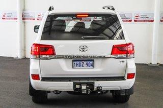 2016 Toyota Landcruiser VDJ200R MY16 VX (4x4) Glacier White 6 Speed Automatic Wagon