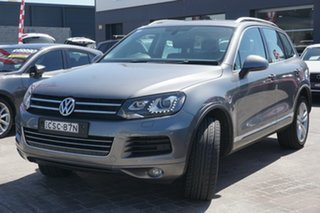 2014 Volkswagen Touareg 7P MY14 V6 TDI Tiptronic 4MOTION Grey 8 Speed Sports Automatic Wagon