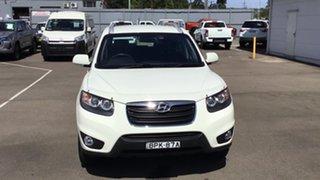 2010 Hyundai Santa Fe CM MY10 Elite White 6 Speed Sports Automatic Wagon.