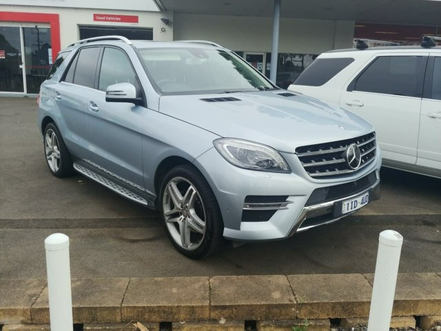 Pre-Owned Mercedes-Benz M-Class W166 MY805 ML350 BlueTEC 7G-Tronic + Ferntree Gully, 2015 Mercedes-Benz M-Class W166 MY805 ML350 BlueTEC 7G-Tronic + Silver, Chrome 7 Speed