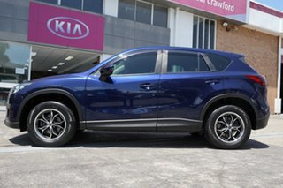 2013 Mazda CX-5 KE1071 MY13 Maxx SKYACTIV-Drive Blue 6 Speed Sports Automatic Wagon