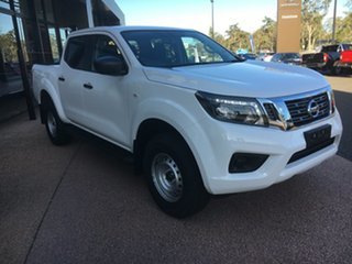 2020 Nissan Navara D23 S4 MY20 SL White 6 Speed Manual Utility.