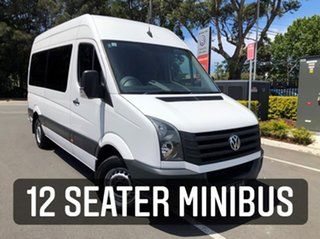 2016 Volkswagen Crafter 2ED1 MY16 35 MWB TDI400 White 6 Speed Manual Van.