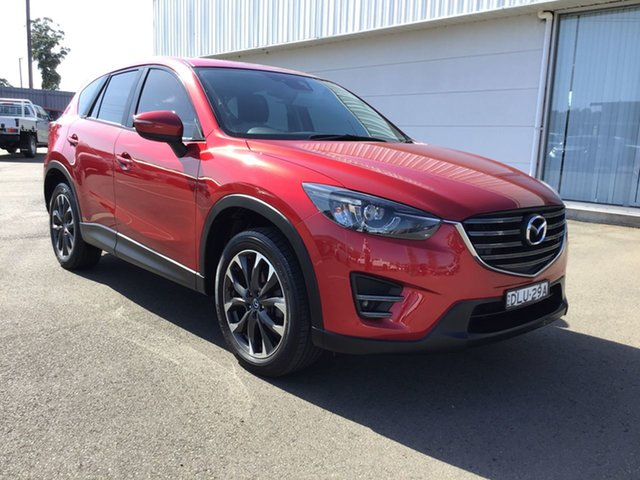 Pre-Owned Mazda CX-5 KF4WLA GT SKYACTIV-Drive i-ACTIV AWD Cardiff, 2017 Mazda CX-5 KF4WLA GT SKYACTIV-Drive i-ACTIV AWD Red 6 Speed Sports Automatic Wagon