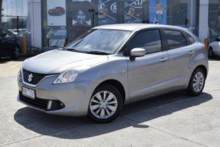 2018 Suzuki Baleno EW GL Silver 4 Speed Automatic Hatchback.