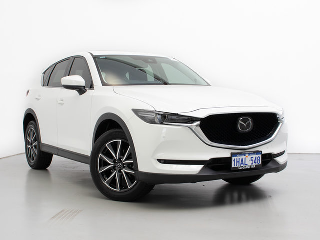 Used Mazda CX-5 MY19 (KF Series 2) GT (4x4), 2019 Mazda CX-5 MY19 (KF Series 2) GT (4x4) White 6 Speed Automatic Wagon