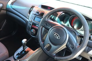2010 Kia Cerato TD MY10 SLi White 4 Speed Sports Automatic Sedan