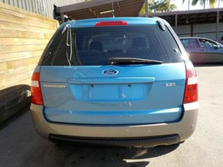 2006 Ford Territory SY TX Blue 4 Speed Sports Automatic Wagon
