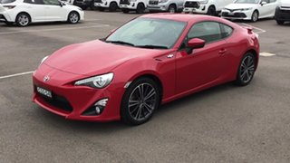 2014 Toyota 86 ZN6 GTS Red 6 Speed Sports Automatic Coupe
