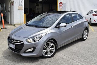 2013 Hyundai i30 GD Premium Grey 6 Speed Sports Automatic Hatchback.