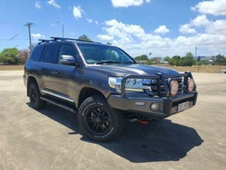 2017 Toyota Landcruiser VDJ200R Sahara Magnetic 6 Speed Sports Automatic Wagon.