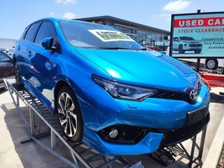 2016 Toyota Corolla ZRE182R ZR S-CVT Blue 7 Speed Constant Variable Hatchback