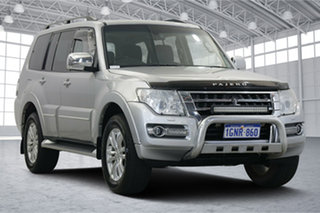 2018 Mitsubishi Pajero NX MY18 Exceed Silver 5 Speed Sports Automatic Wagon.