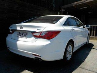2011 Hyundai i45 YF MY11 Active White 6 Speed Sports Automatic Sedan.