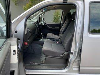 2008 Nissan Navara D40 ST-X Silver 5 Speed Automatic Utility