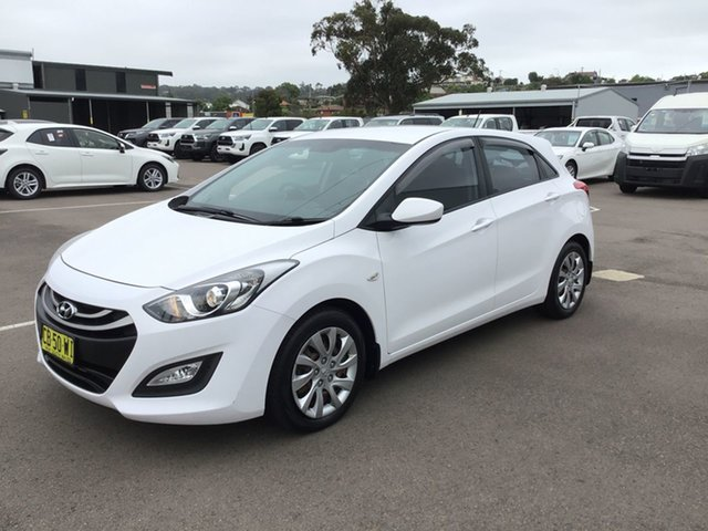 Used Hyundai i30 GD2 Active Cardiff, 2014 Hyundai i30 GD2 Active White 6 Speed Sports Automatic Hatchback