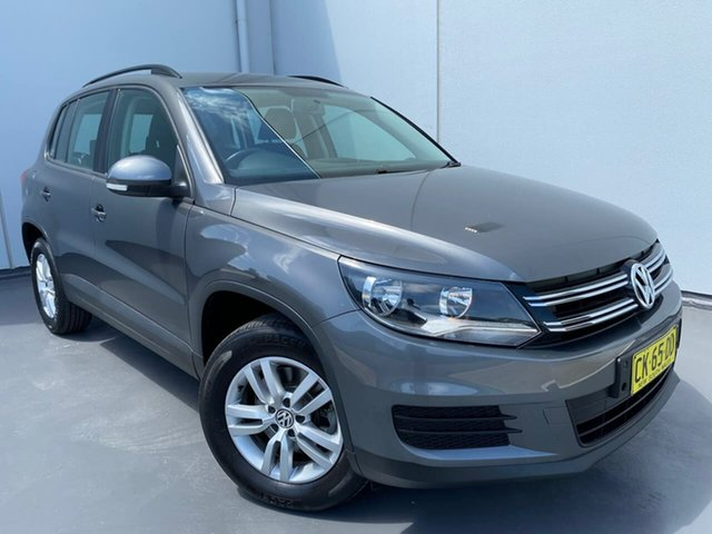 Used Volkswagen Tiguan 5N MY14 118TSI DSG 2WD Liverpool, 2014 Volkswagen Tiguan 5N MY14 118TSI DSG 2WD Grey 6 Speed Sports Automatic Dual Clutch Wagon