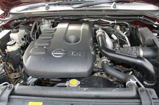 2007 Nissan Navara D40 ST-X (4x4) Burgundy 6 Speed Manual Dual Cab Pick-up