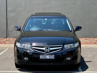2007 Honda Accord Euro CL MY2007 Luxury Black 5 Speed Automatic Sedan.