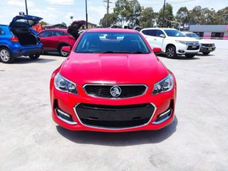 2017 Holden Commodore VF II MY17 SV6 Red 6 Speed Sports Automatic Sedan