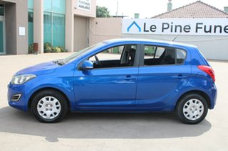 2012 Hyundai i20 PB MY12.5 Active Blue 4 Speed Automatic Hatchback
