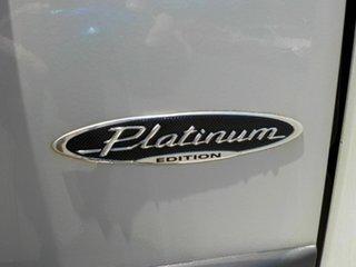 2011 Mitsubishi Pajero NW MY12 Platinum White 5 Speed Manual Wagon