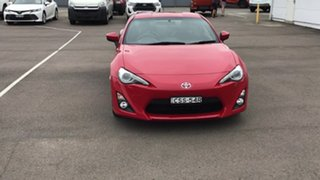 2014 Toyota 86 ZN6 GTS Red 6 Speed Sports Automatic Coupe.