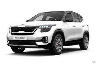 2020 Kia Seltos SP2 MY21 GT-Line DCT AWD White 7 Speed Sports Automatic Dual Clutch Wagon