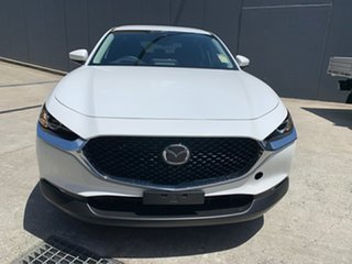 2020 Mazda CX-30 DM2W7A G20 SKYACTIV-Drive Pure Snowflake White 6 Speed Sports Automatic Wagon