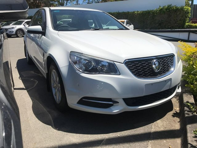 Used Holden Commodore VF MY15 Evoke Mount Gravatt, 2015 Holden Commodore VF MY15 Evoke White 6 Speed Sports Automatic Sedan